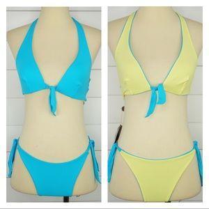FISICO by CRISTINA FERRARI Reversible Bikini NWT